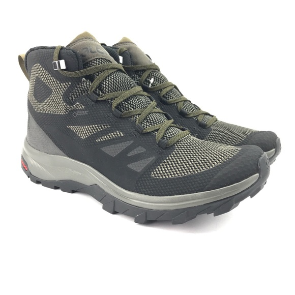 Size Boots 9 Salomon Nwt Mens Gtx Mid Outline Hiking TlFcJuK351